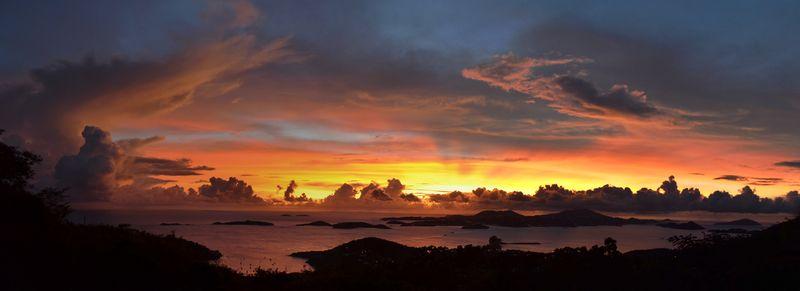 Rafael Sunset Panorama
